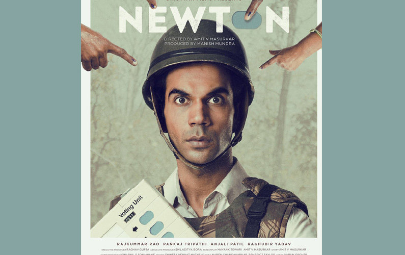 Newton' is India's official entry for Oscars
