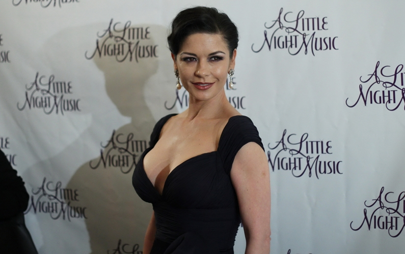 Zeta-Jones inspired by 101-year-old father-in-law