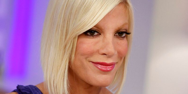 Tori Spelling back at work after alleged breakdown