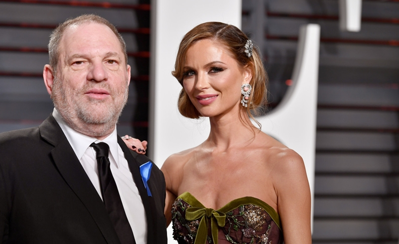 Weinstein's wife leaves amid sex scandal