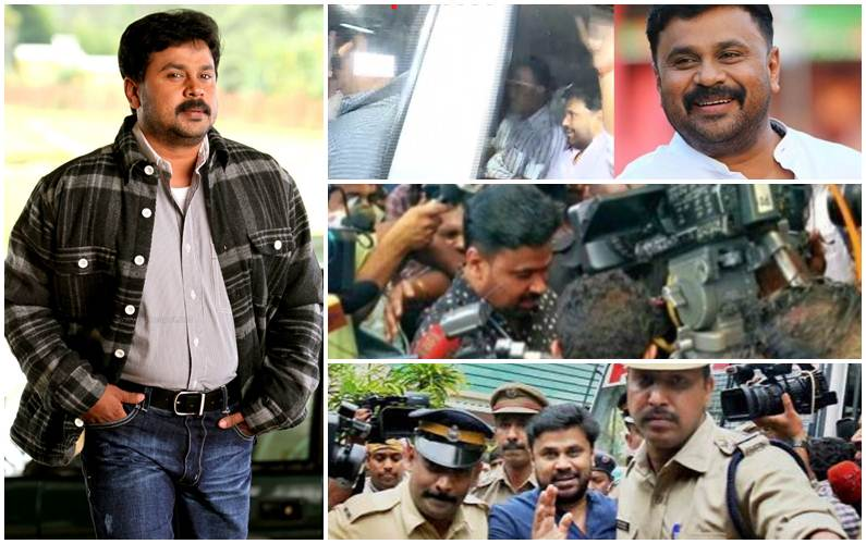 Malayalam superstar Dileep sent to 14 days' custody