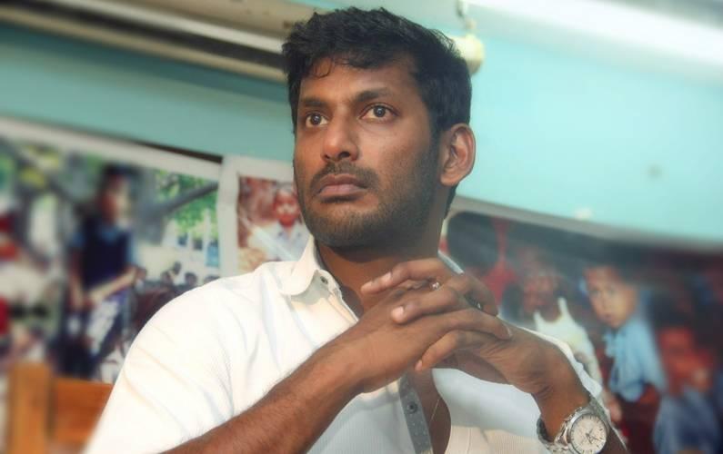Politics won't be an alternative career, says Vishal