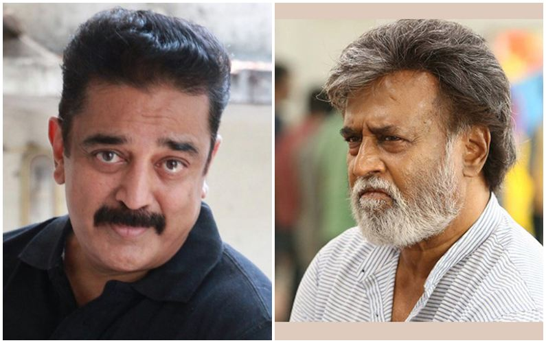 Kamal Haasan calls on Rajinikanth