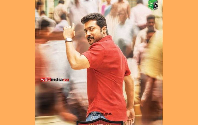 On Suriya's birthday,'Thaana Serntha Kootam' poster released