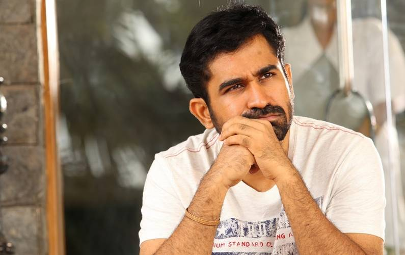 Working birthday for actor Vijay Antony