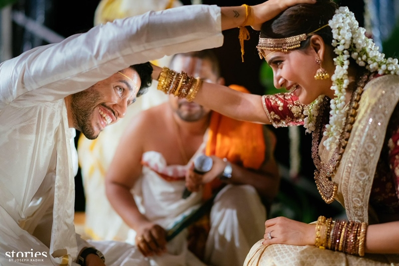 Actors Naga Chaitanya, Samantha enter wedlock