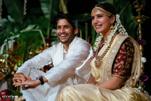 Naga Chaitanya and Samantha Ruth Prabhu's wedding photos