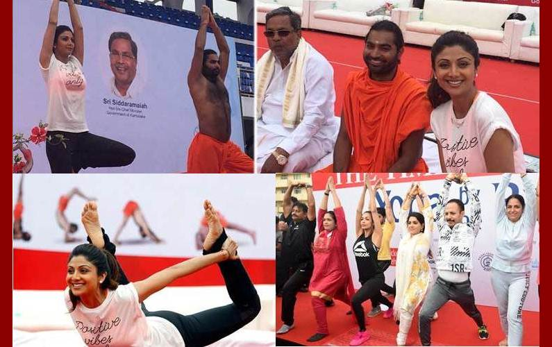 B-Town celebrities celebrate International Yoga Day