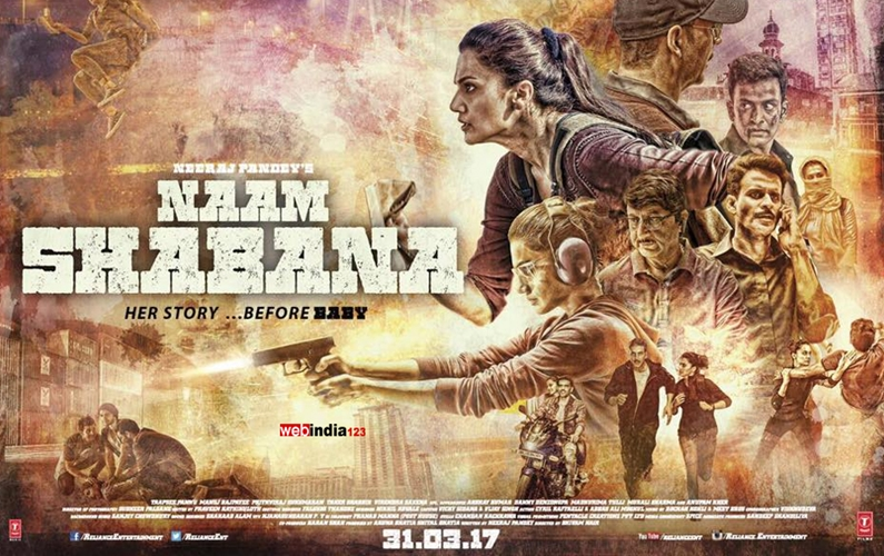 Taapsee Pannu trained with Hollywood stunt director for 'Naam Shabana'