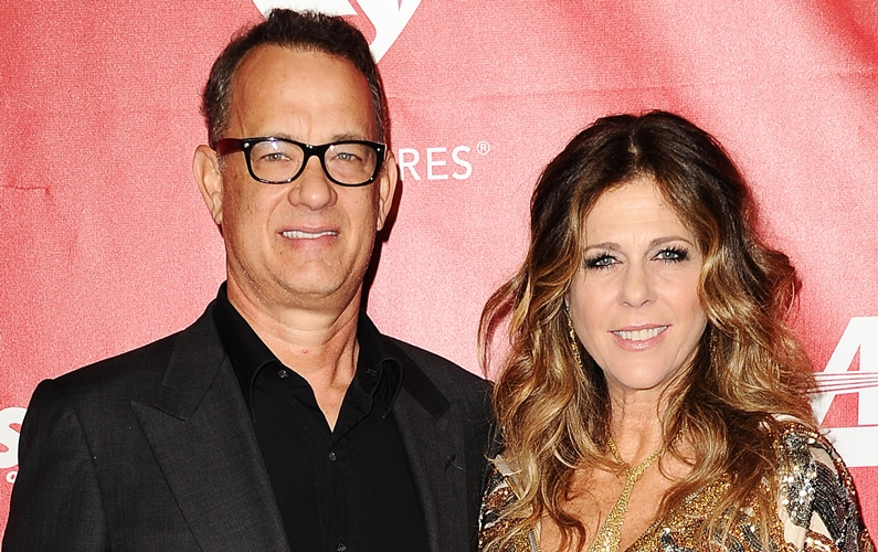 Tom Hanks calls himself 'cool' grandparent
