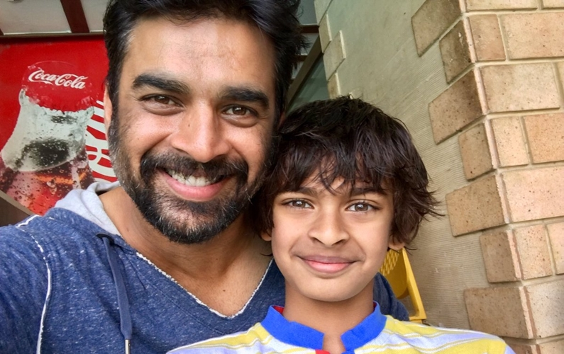 Madhavan proud of son's swimming feat