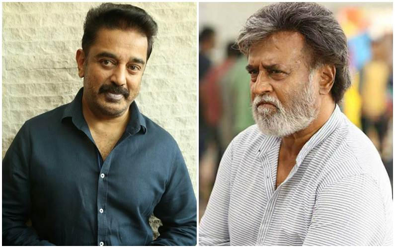 Kamal dodges question on Rajinikanth's political entry