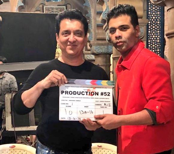 'Kalank' shoot begins