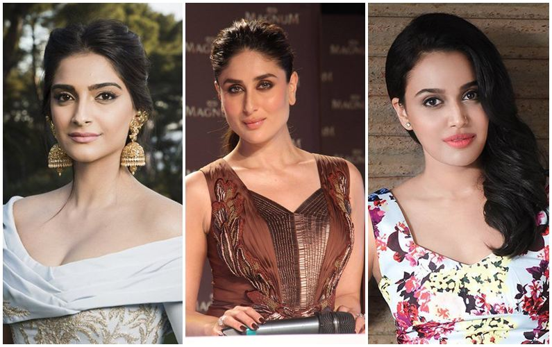 Sonam, Kareena, Swara refrain from casting couch talk