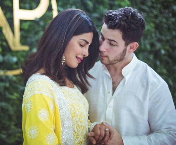 It's celebration time for Priyanka and Nick