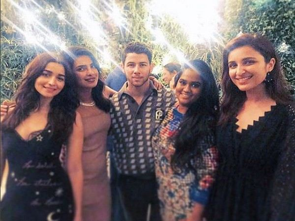 Alia is 'All Heart' for Priyanka and Nick