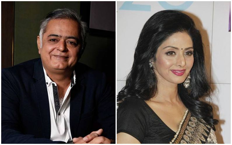 I will always regret not approaching Sridevi: Hansal Mehta