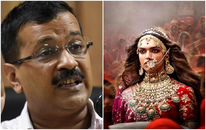 Kejriwal slams government over anti-'Padmaavat' protests, says bad for investments
