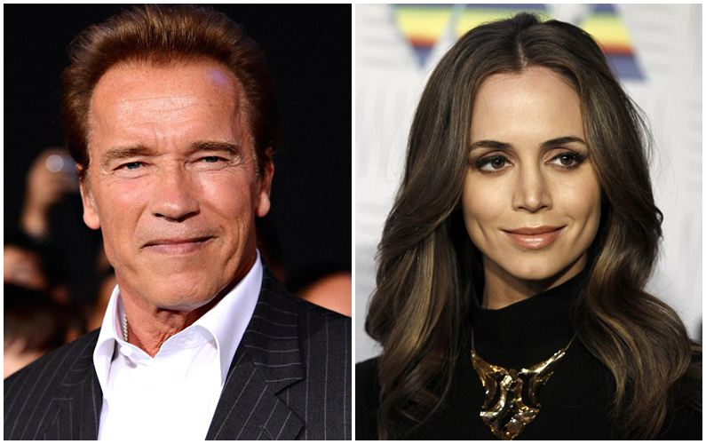 Schwarzenegger finds Eliza Dushku 'courageous'