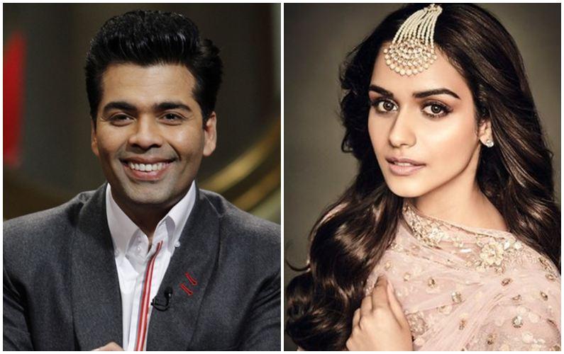 Karan Johar denies rumours of roping Manushi Chillar for 'SOTY 2'