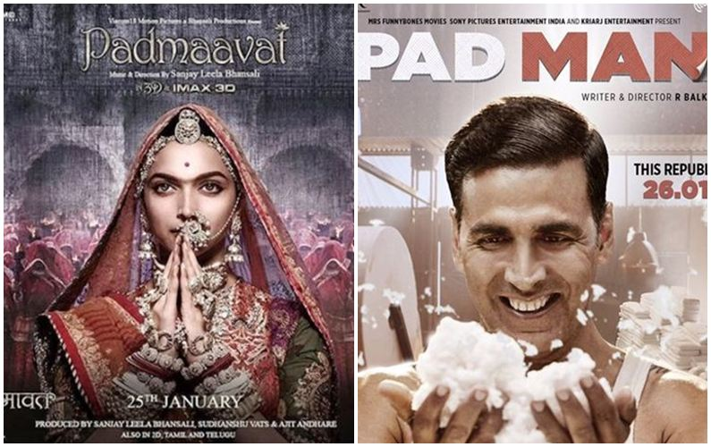 Clash averted: 'Padmaavat' to fly solo on January 25, 'Pad Man' delayed