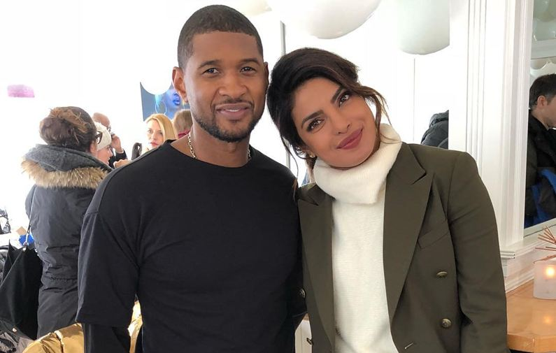 Priyanka Chopra hangs out with Usher