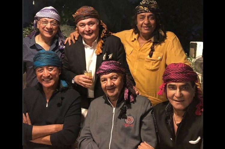 Reunion of screen veterans: Rishi, Danny, Prem