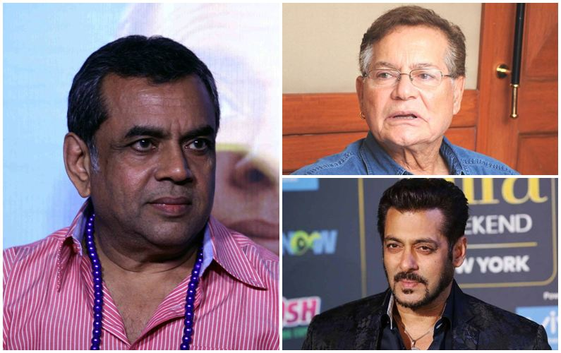 Paresh credits Salim, Salman for his career's hits