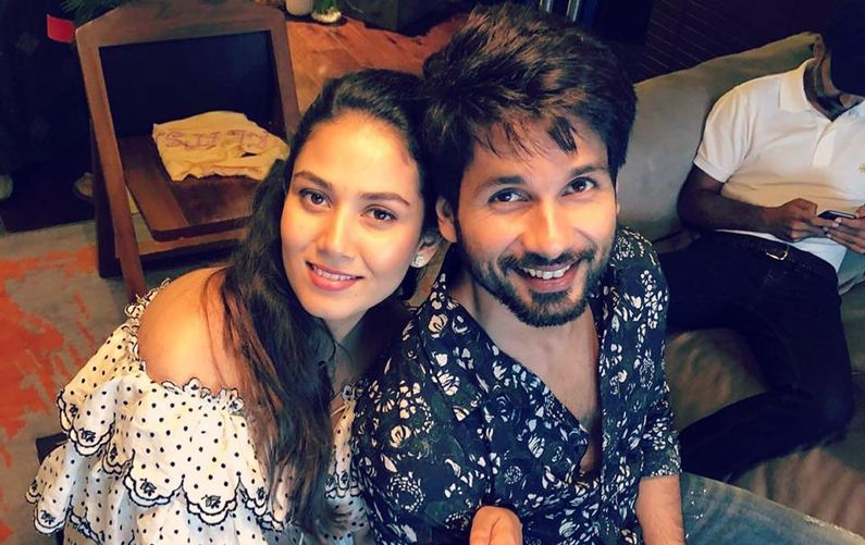 Shahid-Mira look adorable at their baby shower