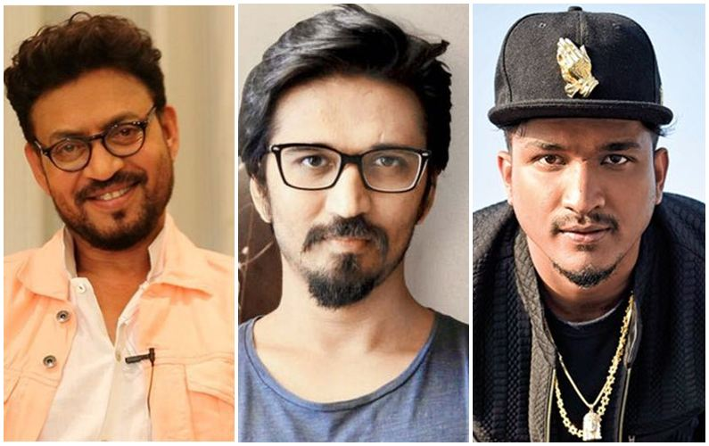 Irrfan, Amit Trivedi, Divine get together for 'Badla'