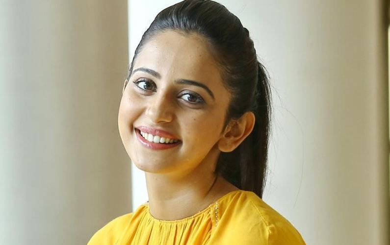Rakul Preet takes fans on a chopper ride
