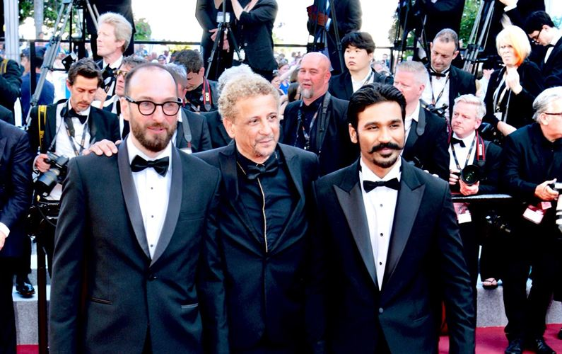 Dhanush walks the red carpet in Cannes