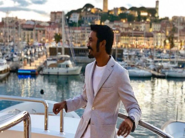 Dhanush promotes 'The Extraordinary Journey...' at Cannes