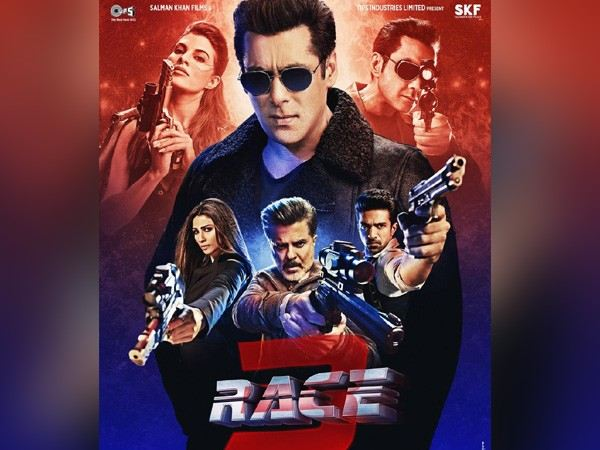 'Race 3' crosses 100-crore mark in opening weekend