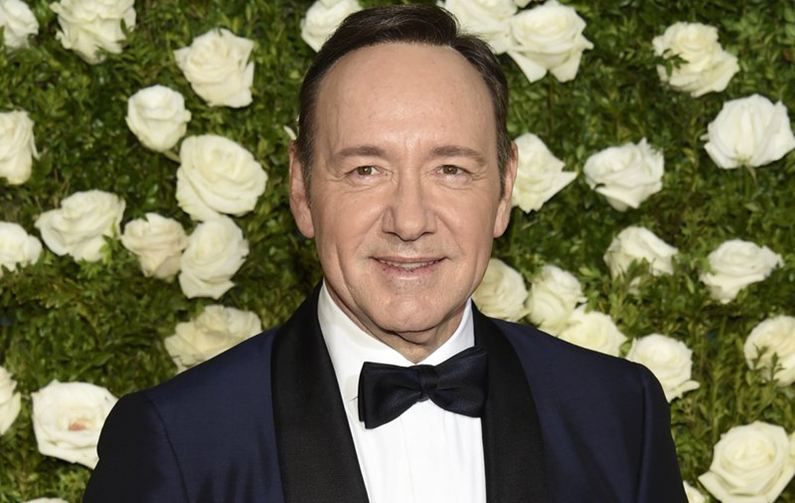 Kevin Spacey accused of racism