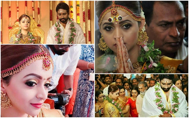 Malayalam actress Bhavana weds Kannada producer Naveen