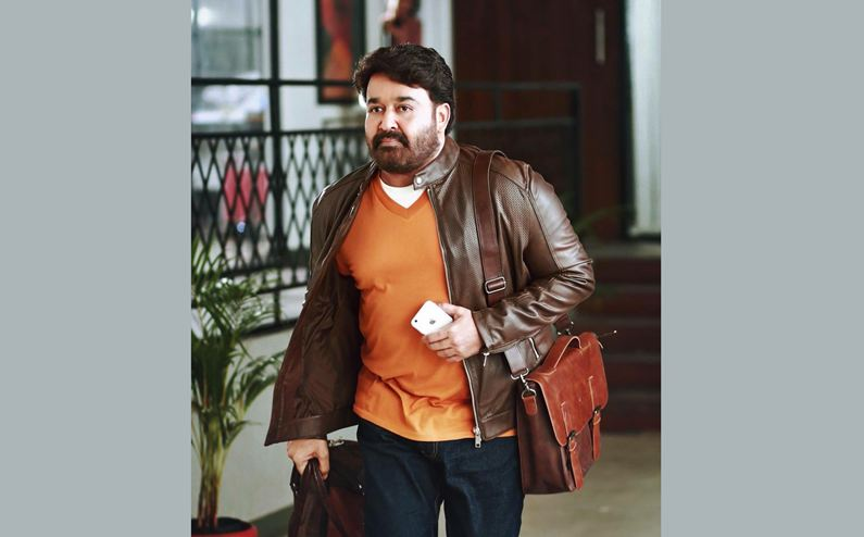 Mohanlal shoots new movie in Mumbai
