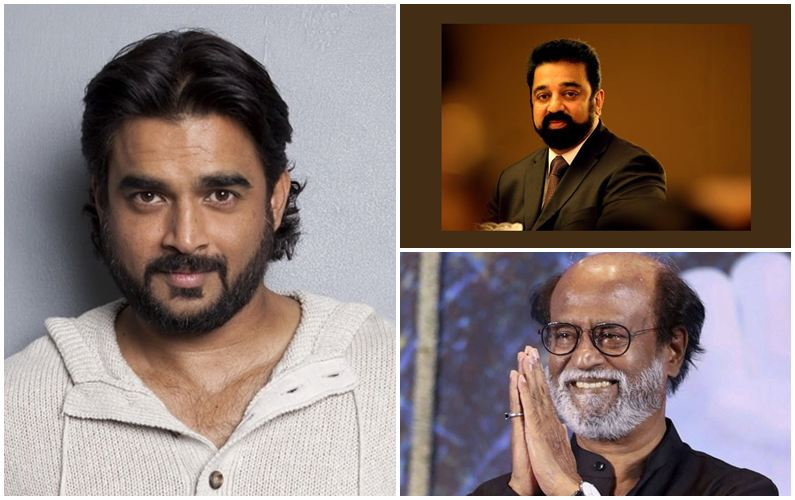 R Madhavan backs Rajnikanth, Kamal Haasan's entry in politics